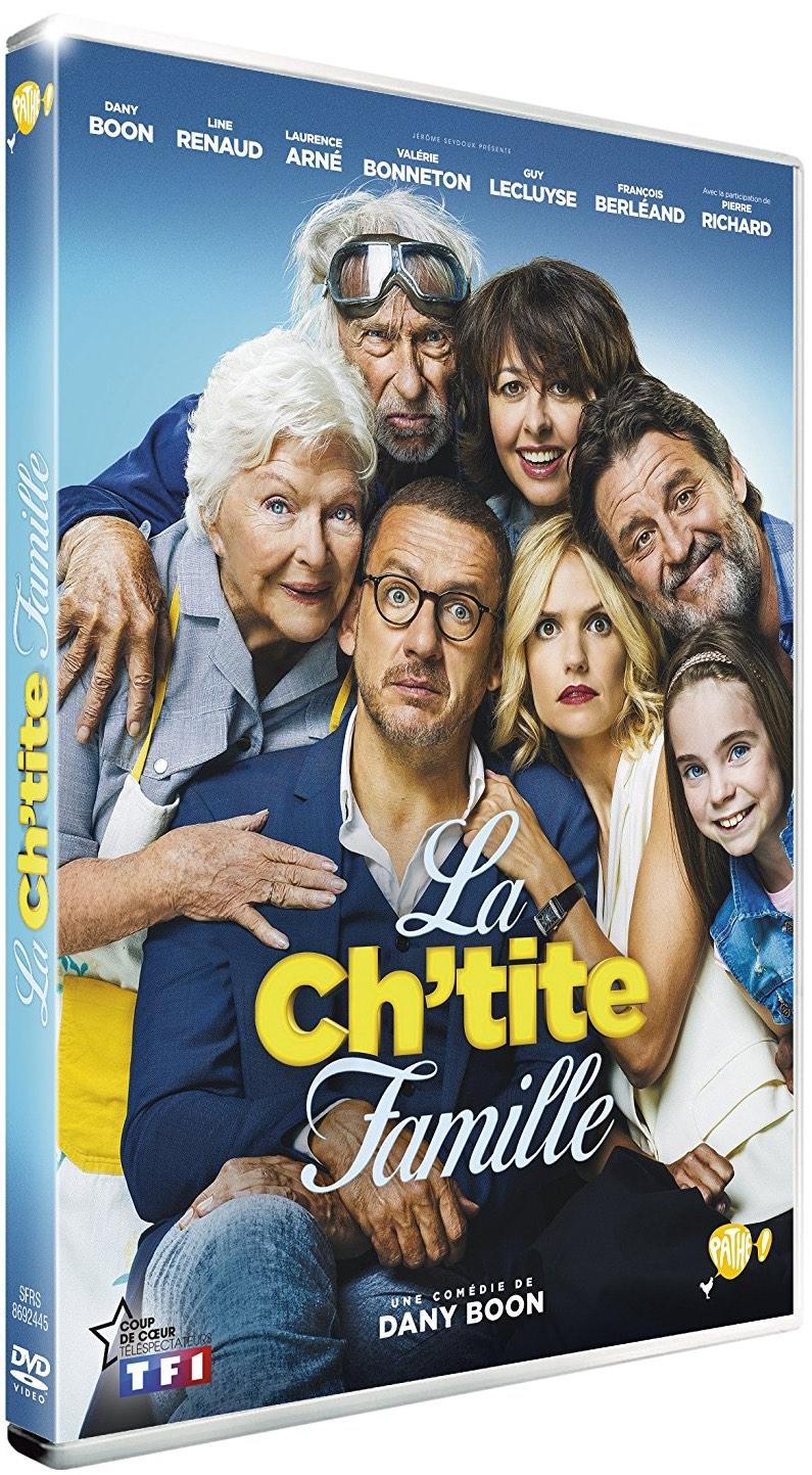 La ch'tite famille : film DVD