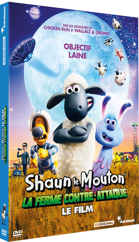 Shaun le Mouton, le film : la ferme contre-attaque   Becher, Will. Réalisateur
