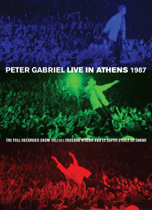 Peter Gabriel : live in Athens 1987  